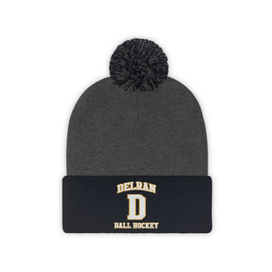 Pom Pom Beanie - (8 colors available) DELRAN