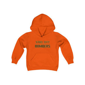 Youth Heavy Blend Hooded Sweatshirt - BOMBERS