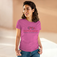 Women's Heavy Cotton Tee- 7 COLORS -CLUTCH