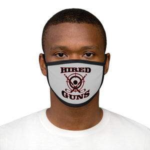 Mixed-Fabric Face Mask - Hired Guns