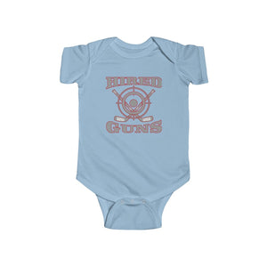 Infant Fine Jersey Bodysuit (4 colors available) - Hired Guns
