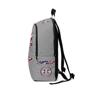 Unisex Fabric Backpack - Mix/Hagan USA bag - Gray