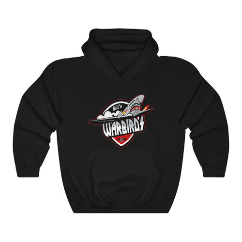 Hooded Sweatshirt - (12 colors available) - Warbirds