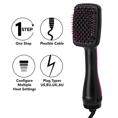 ONE STEP HAIR DRYER & STYLER (2 IN 1)