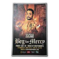 Beg For Mercy Autographed Poster
