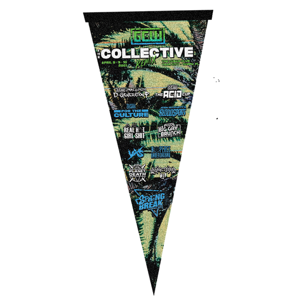 GCW Collective Remix Pennant
