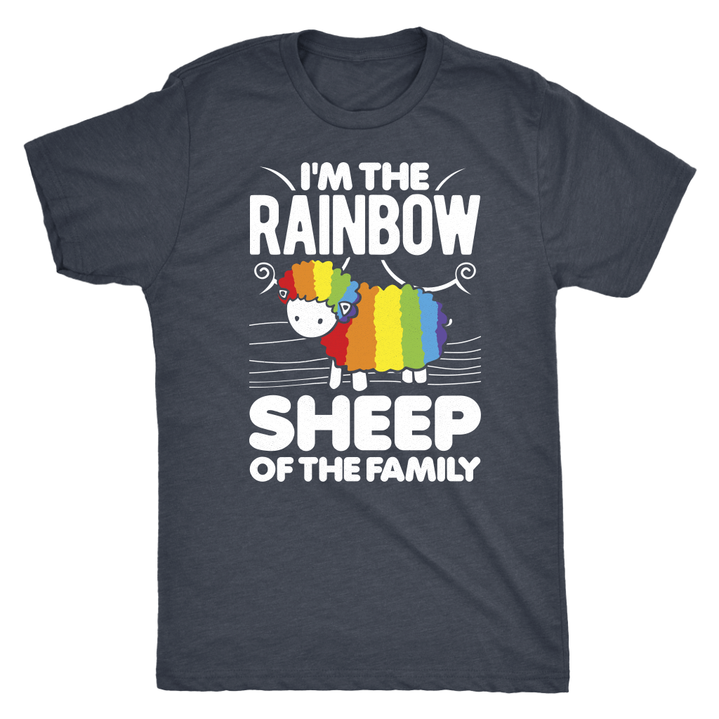 Rainbow Sheep Tee