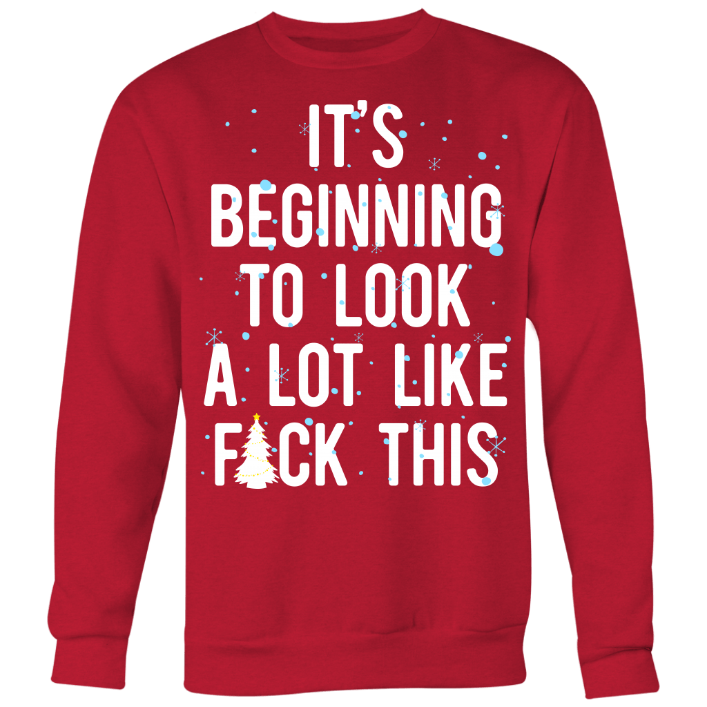 It's Beginning To Look A Lot Like F*** This Sweater