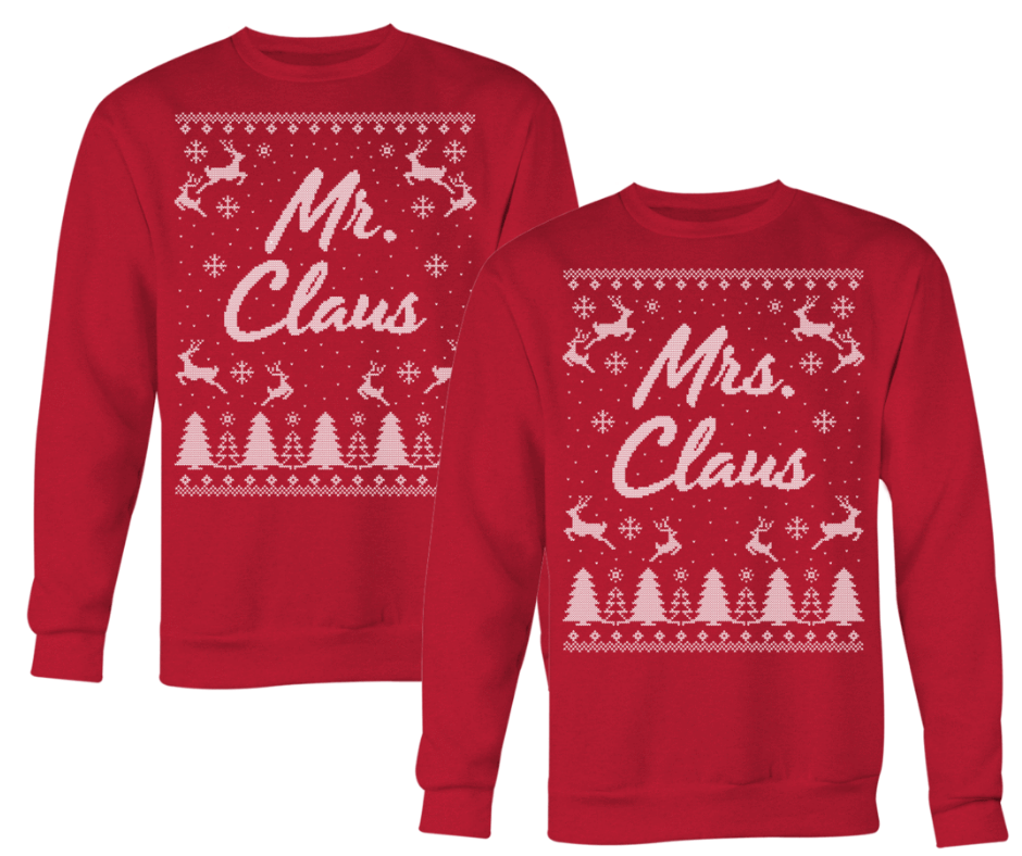 Mr. & Mrs. Claus Sweater