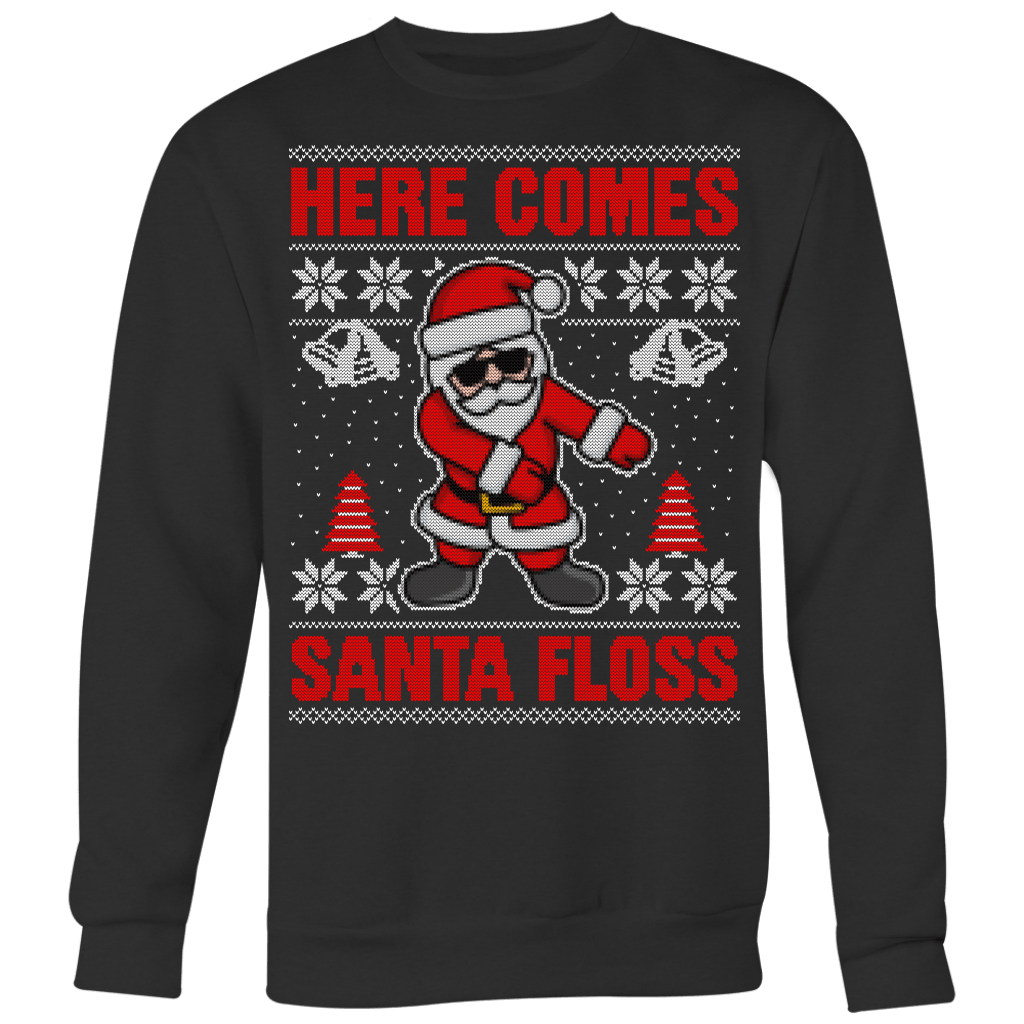 Santa Floss Sweater