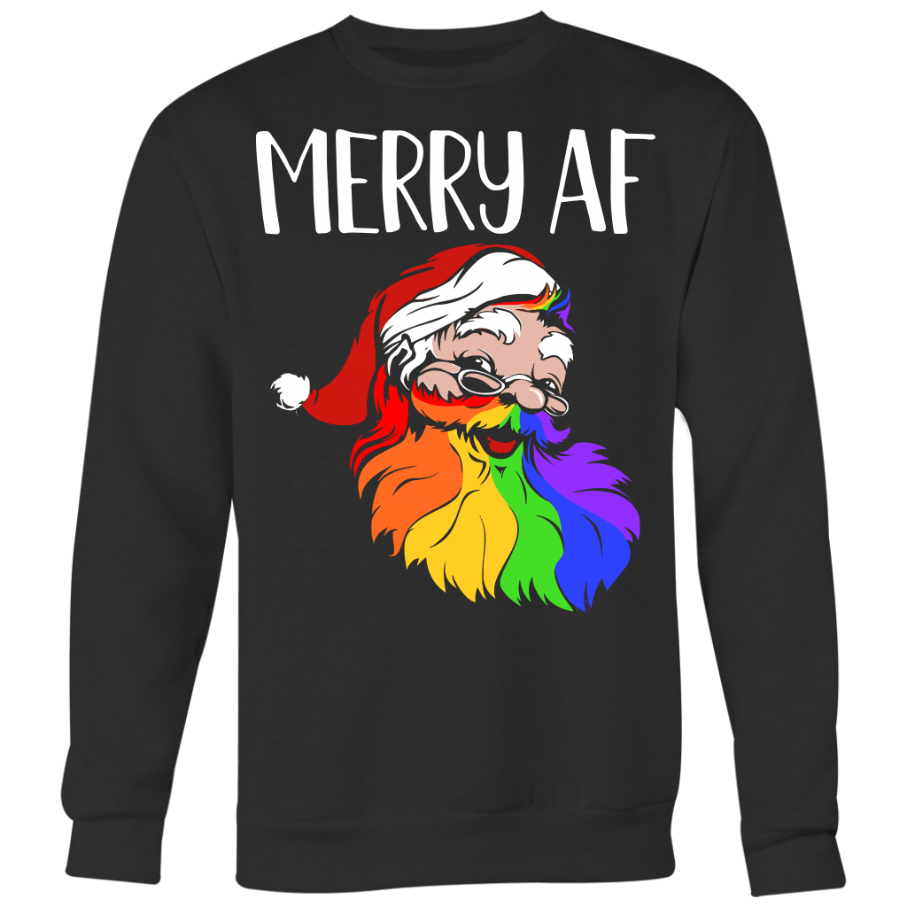 Merry AF Sweater