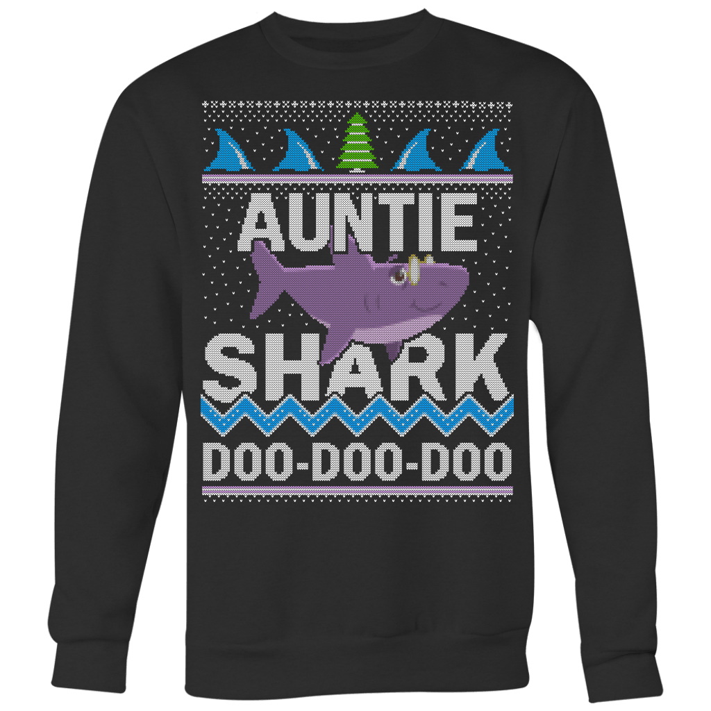 Auntie Shark Sweater