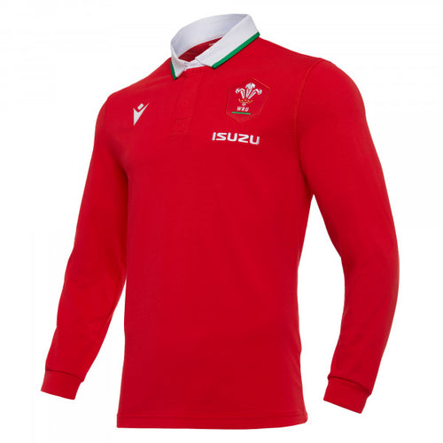 Wales Home Cotton Rugby Shirt 2020/2021