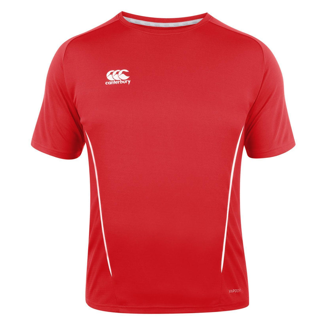 Canterbury Team Dry T-shirt Royal - Red