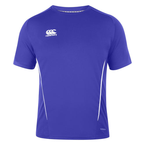 Canterbury Team Dry T-shirt Royal - Blue & White
