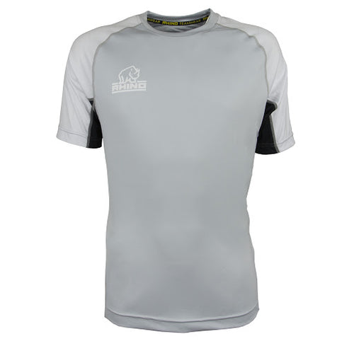 Rugby Israel Mace T-Shirt - Black & Silver