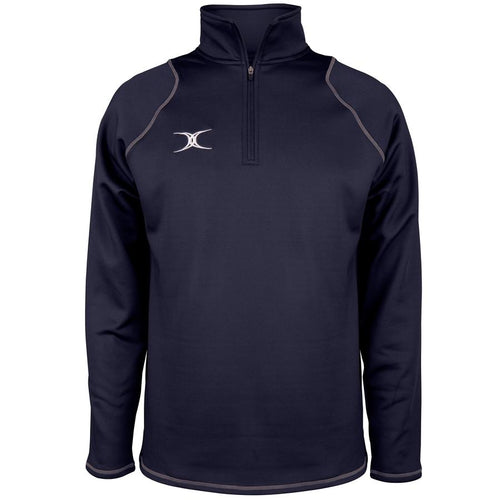 Mens Quest 2 1/4 Zip Fleece -  Dark Navy
