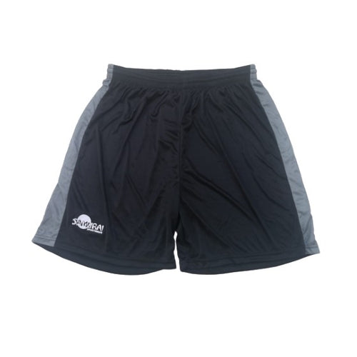 Samarai Shorts - Grey & Black