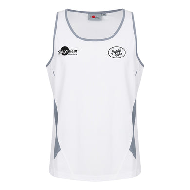 Rugby Box X Samurai - Rugby Vest Top - White