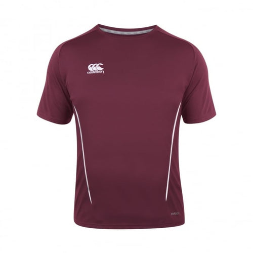 Canterbury Team Wear Team Dry T-shirt - Maroon & White