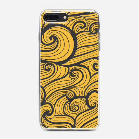 Yellow Wind iPhone 8 Plus Case