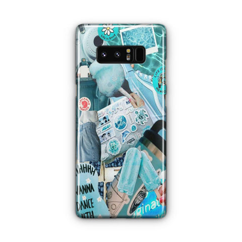 Blue Activities Samsung Galaxy Note 8 Case