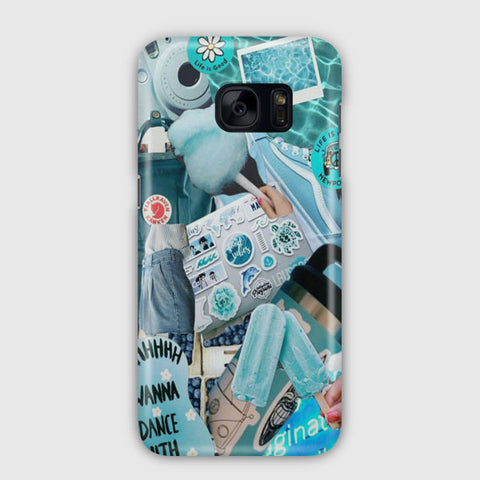 Blue Activities Samsung Galaxy S7 Edge Case