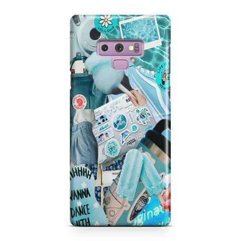 Blue Activities Samsung Galaxy Note 9 Case