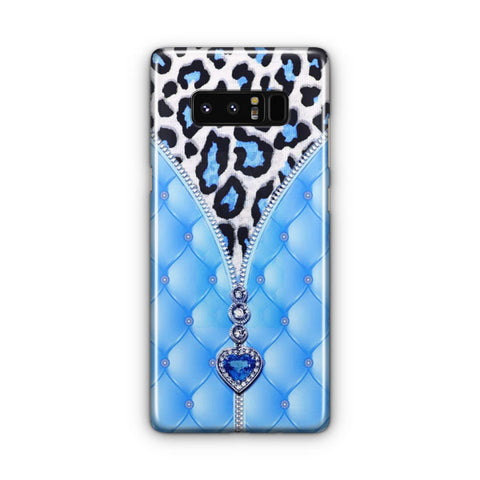 Blue And Diamonds Samsung Galaxy Note 8 Case
