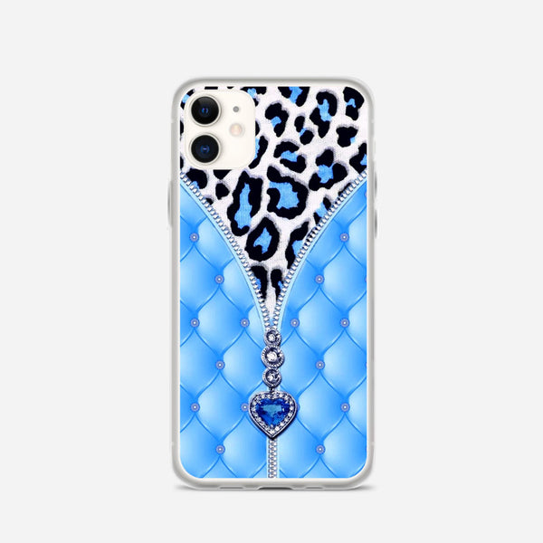 Blue And Diamonds iPhone X Case