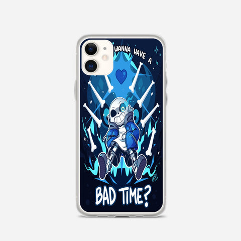 Undertale Sans Have a Bad Time iPhone 11 Case