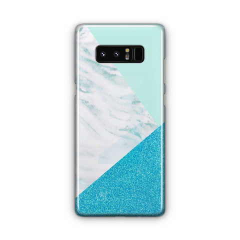 Blue And Green Granite Samsung Galaxy Note 8 Case
