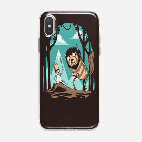 Where The Wild Adventures Are iPhone XS Case