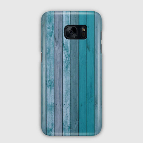 Blue Wood Samsung Galaxy S7 Case