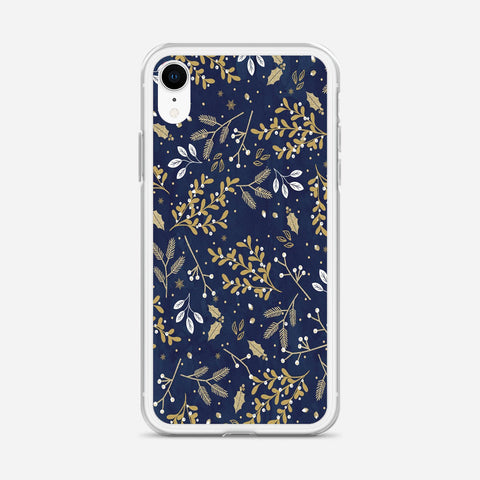 Winter Floral iPhone XR Case