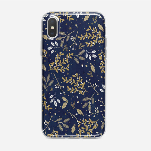 Winter Floral iPhone XS Max Case