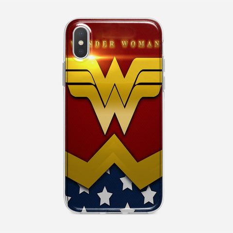 Wonder Woman Classic Suit iPhone XS Max Case