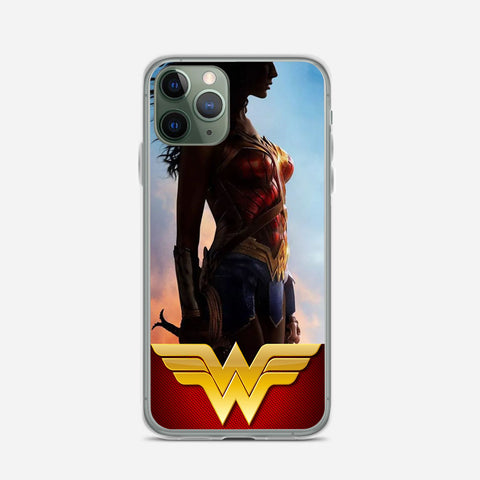 Wonder Woman Flag Glow iPhone 11 Pro Case