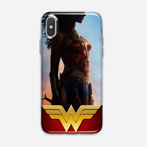 Wonder Woman Flag Glow iPhone XS Max Case