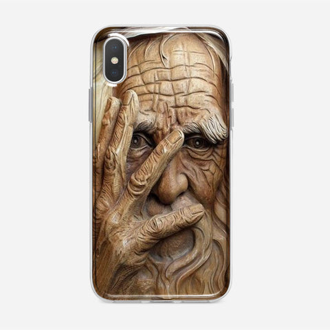 Wood Carving iPhone XS Max Case