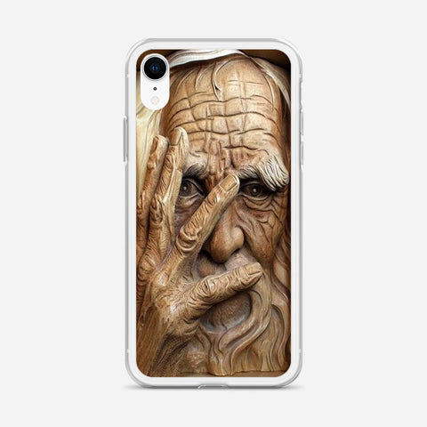 Wood Carving iPhone XR Case