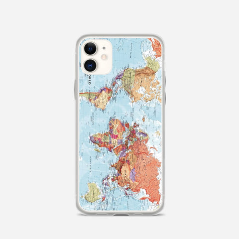 World Maps iPhone 11 Case