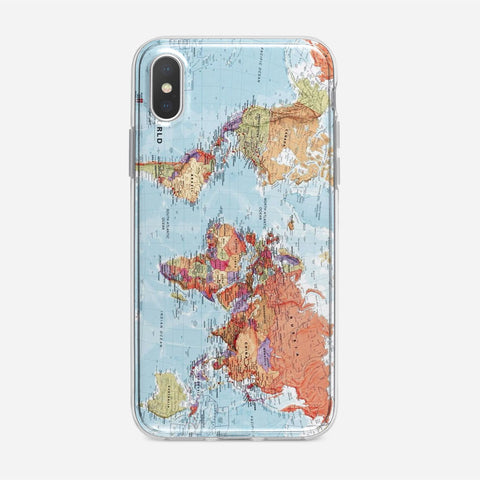 World Maps iPhone XS Max Case
