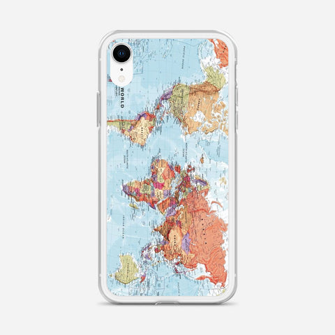 World Maps iPhone XR Case