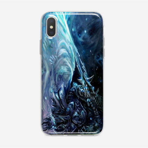 World Of Warcraft Lich King iPhone XS Max Case