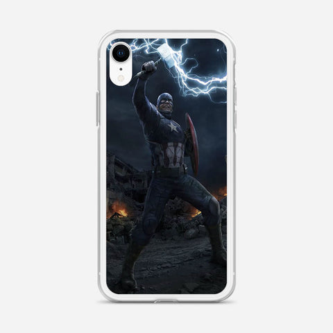 Worthy Captain America iPhone XR Case