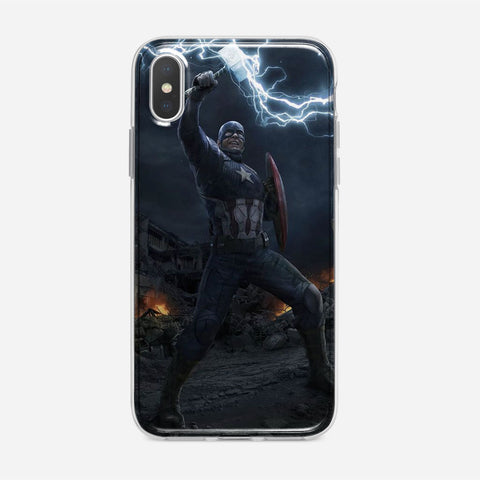 Worthy Captain America iPhone XS Max Case
