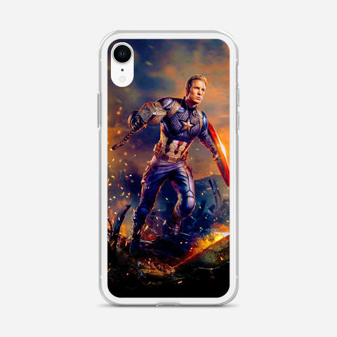 Worthy Captain America Artwork iPhone XR Case