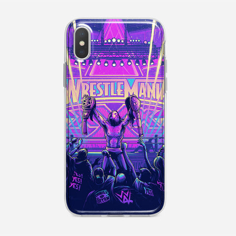 Wrestlemania XXX iPhone XS Max Case