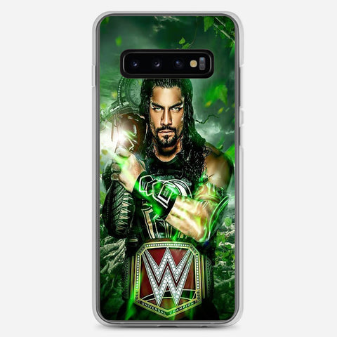 WWE Roman Reigns Samsung Galaxy S10 Plus Case